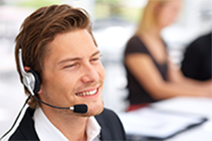 homme-Call-center